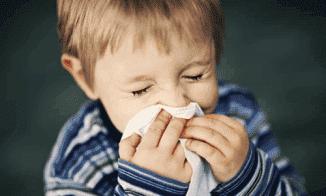 затяжной насморк у детей