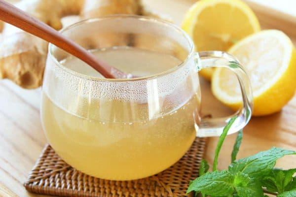 Лимонный сок с мёдом от кашля