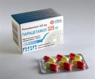 Парацетамол при повышенной температуре