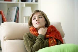 компрессы на горло при лактации