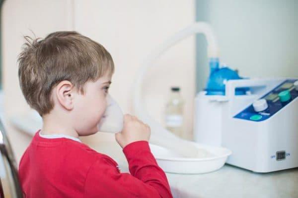 процедура проведения ингаляций небулайзером у детей