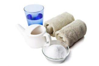 солевой раствор для промывания носа новорожденным