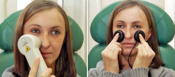 ультразвуковая терапия для прогревания носа