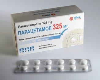 Парацетамол при простуде детям