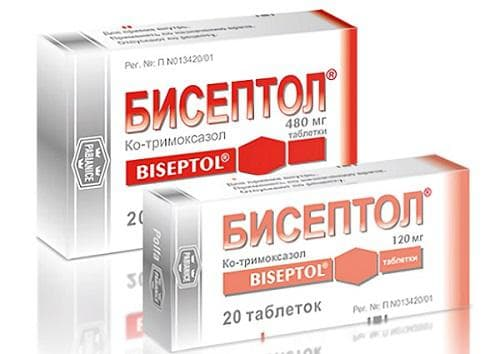 Помогает ли бисептол от кашля