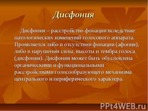 disfoniya
