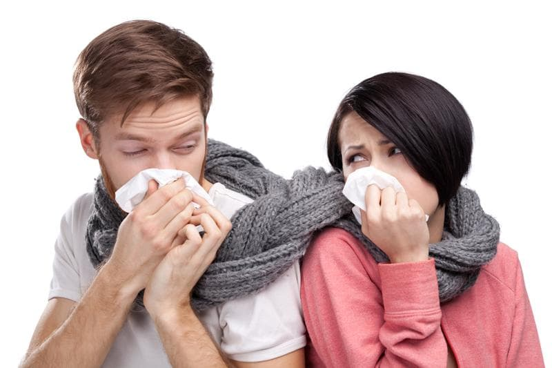 Пять признаков вируса в организме