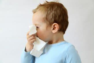 острый назофарингит у детей
