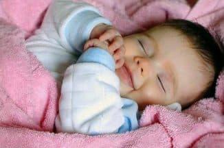 покой больного малыша