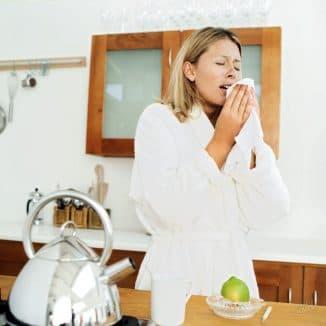 причины возникновения простудного насморка