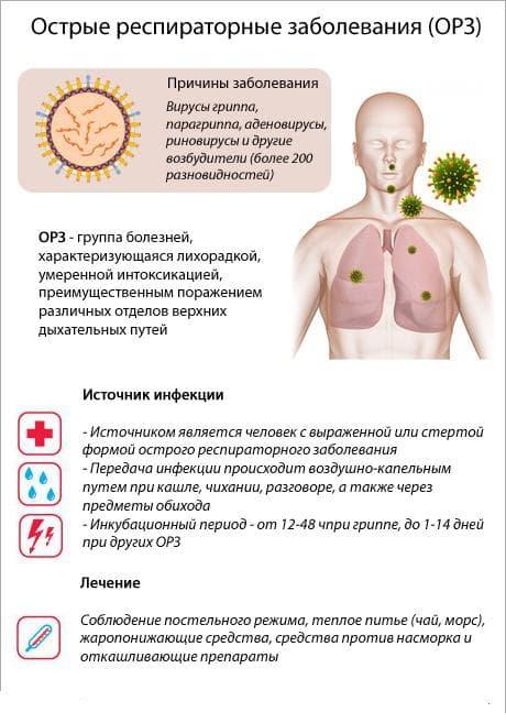Причины возникновения простудных заболеваний
