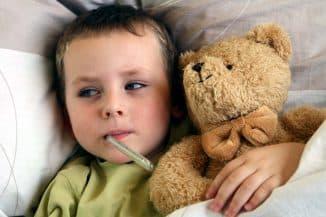 лечение ребенка больного трахеитом