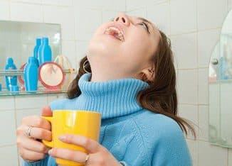 полоскание горла при первых признаках простуды