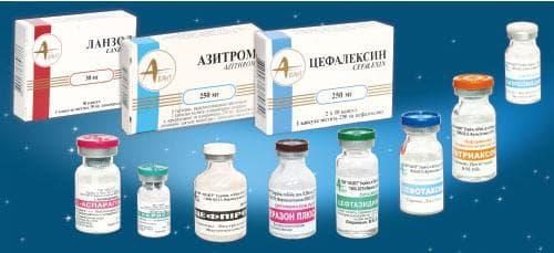 Антибиотики от трахеита у взрослого