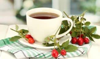 чай с шиповником для профилактики простуд