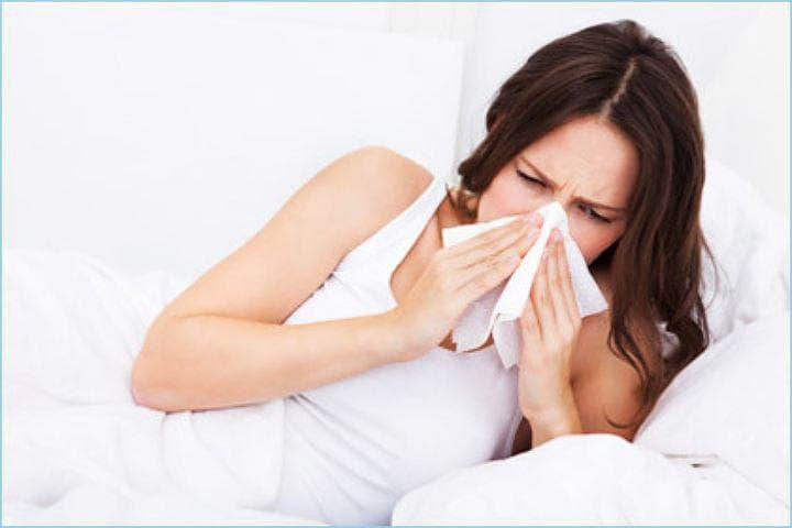 Как лечить аллергический ринит у беременной