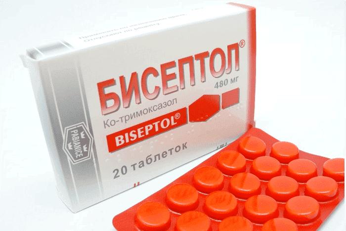 Бисептол можно ли при ангине пить