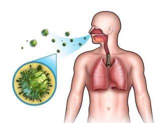 вирусная инфекция - проникновение в организм