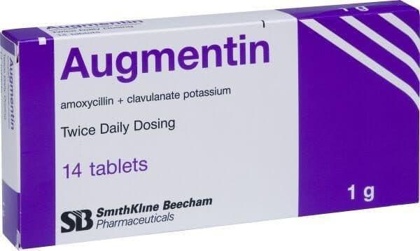 Таблетированный Аугментин