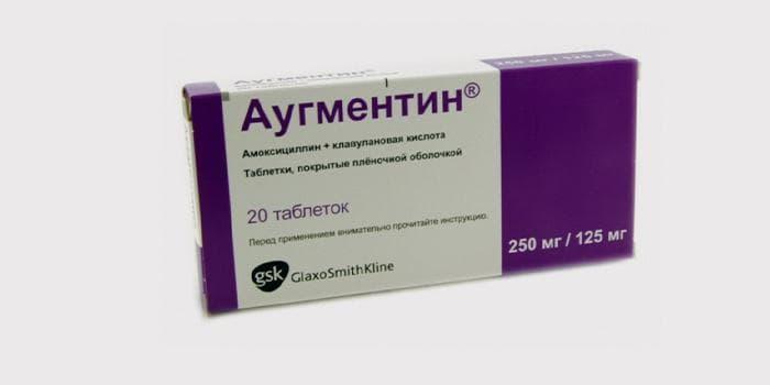Аугментин при ангине у взрослых и детей - дозировка при тонзиллите, помогает ли при гнойной