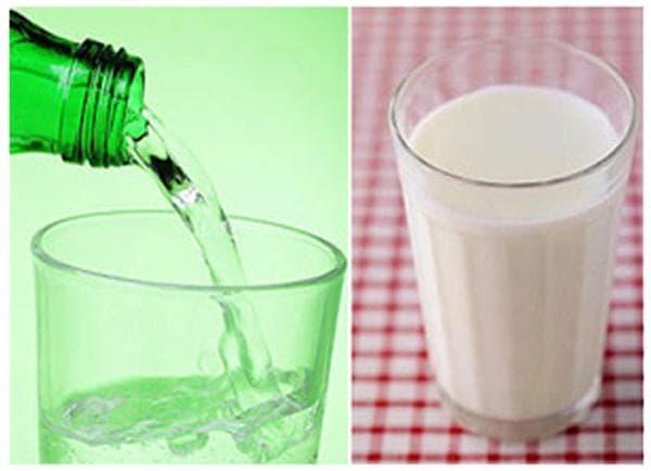 Молоко с боржоми от кашля – рецепт: пропорции и как применять
