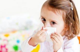 Причины заложенности носа у ребенка
