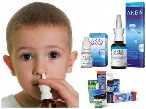 Жидкий насморк у ребенка