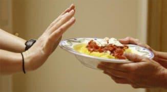 Отказ от тяжелой пищи