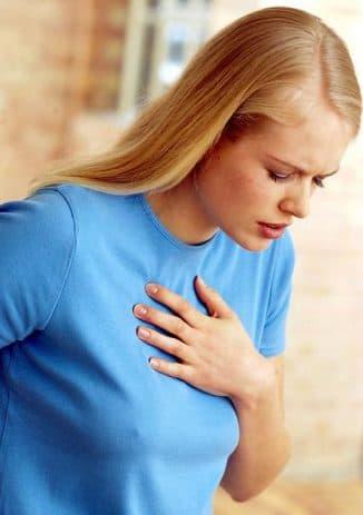 одышка при сердечной астме