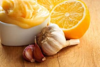 Мёд, чеснок, лимон